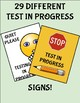 53 Test/Exam in progress Signs