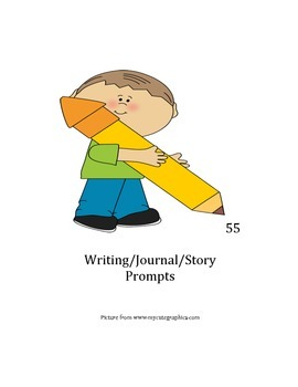 55- Writing/Journal/Story prompts