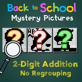 Back to School 2 Digit Addition No Regrouping