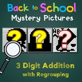 Back to School 3 Digit Addition With Regrouping