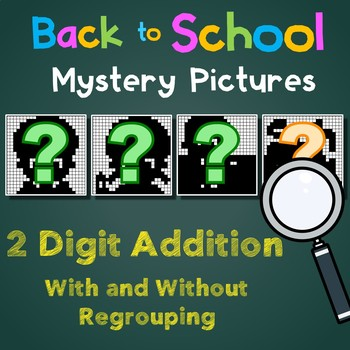 Back to School 2 Digit Addition