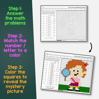 Back to School 2 Digit Addition and Subtraction