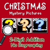Christmas 2 Digit Addition No Regrouping
