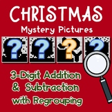 Christmas Color By Number Addition And Subtraction 3 Digits With Regrouping