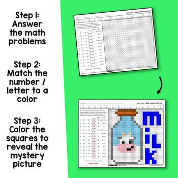 Earth Day 2 Digit Addition No Regrouping