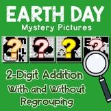 Earth Day 2 Digit Addition
