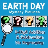 Earth Day 3 Digit Addition and Subtraction No Regroup