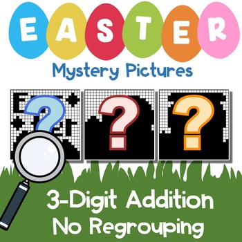 Easter 3 Digit Addition No Regrouping