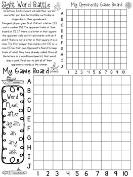539 Sight Word Worksheets Download. Preschool-1st Grade ELA.  ZIP file.
