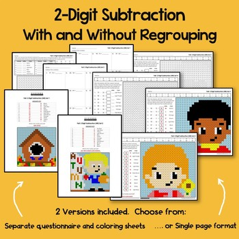 Fall 2 Digit Subtraction