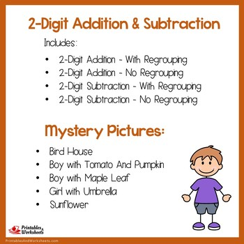 Fall 2 Digit Addition and Subtraction
