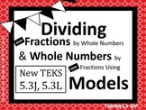 5.3J Divide Unit Fractions by Whole Numbers & Whole Number