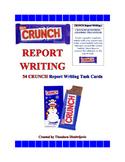 54 C.R.U.N.C.H. Report Writing Task Cards CCSS.ELA-Literacy.W.5.2