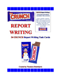 54 C.R.U.N.C.H. Report Writing Task Cards CCSS.ELA-Literacy.W.5.2