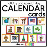 95 Holiday & Special Days Calendar Cards