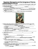 UNIT 9 LESSON 5. Napoleon and the Congress of Vienna GUIDED NOTES