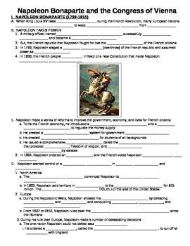 Napoleon Worksheets & Teaching Resources   Teachers Pay Teachers