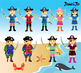 54 Pirate clipart PNG Pirate Image Paper Parrot Pirate shi