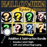 Fun Addition And Subtraction Worksheets Halloween Math Coloring Pages October