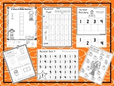 541 Numbers Worksheets Download. Preschool-Kindergarten.  Worksheets in ZIP