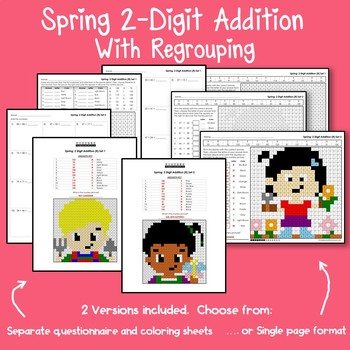 Spring 2 Digit Addition With Regrouping