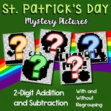 St. Patrick's Day 2 Digit Addition and Subtraction
