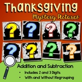 Fun Addition And Subtraction Worksheets Thanksgiving Math Coloring Page November