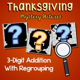 Thanksgiving 3 Digit Addition With Regrouping