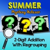 Summer 2 Digit Addition With Regrouping