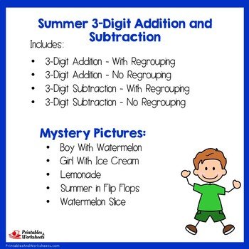 Summer 3 Digit Addition and Subtraction