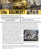 54th Massachusetts Memorial - Picture Analysis