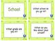 55 Conversation Cards: School