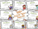 100+ End of the School Year EDITABLE AWARDS featuring BOTH girls and boys