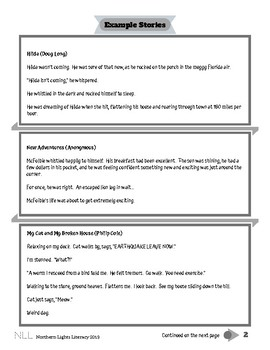 55 Fiction Writing Worksheet Packet - No Prep, Common Core Aligned
