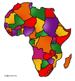 55 Geography/Map Internet Assignments for Continent of Africa