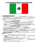 UNIT 9 LESSON 6. Latin American Revolutions GUIDED NOTES