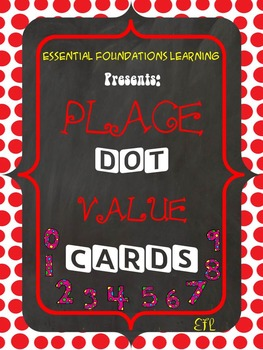 55 Math Related Facts Dot Cards