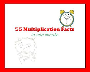 55 Multiplication Facts in One Minute