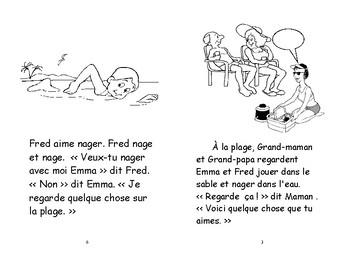 55) Quelle belle journée- livret de lecture ENFANT C1 1ère-2e
