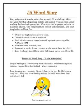 55 Word Story Challenge