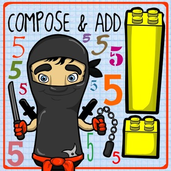 555 Followers Freebie: Composing 5 with Number Ninjas