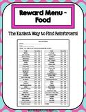 56 Item Reward Menu - Food