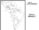 UNIT 9 LESSON 7. Latin America MAP ACTIVITY POWERPOINT