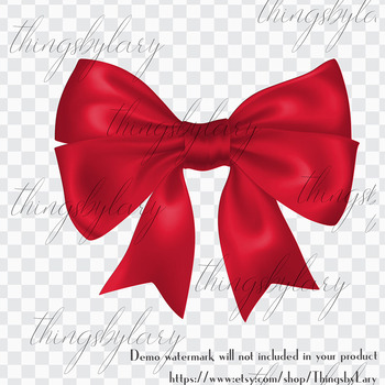 56 Red Bows and Ribbons Clip Arts PNG Transparent