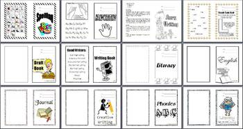 56 Subject Area Book Covers
