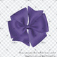 56 Ultra Violet Bows and Ribbons Cliparts PNG Transparent