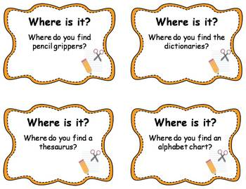 "56 ""Where is it"" Question Cards"