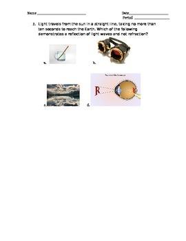 5.6B Circuits & 5.6C Light STAAR Assessment