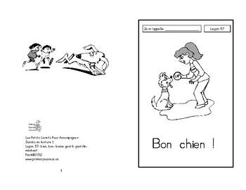 57) Bon chien - livret de lecture ENFANT C1 1ère-2e