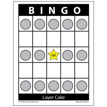 58 Bingo Board Pattern Examples